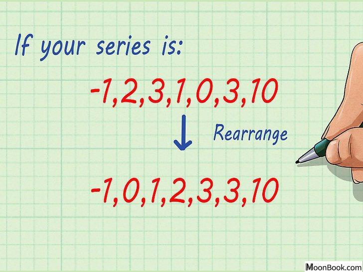 以Calculate Averages (Mean, Median, Mode) Step 9为标题的图片
