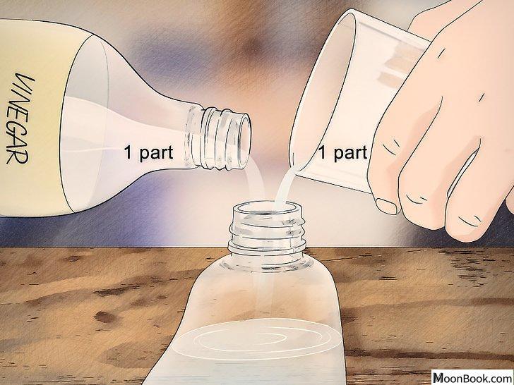 以Clean Grout with Baking Soda Step 3为标题的图片