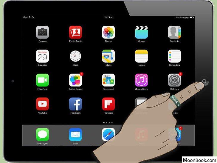 以Close iPhone, iPad and iPod Touch Apps Step 1为标题的图片黑白