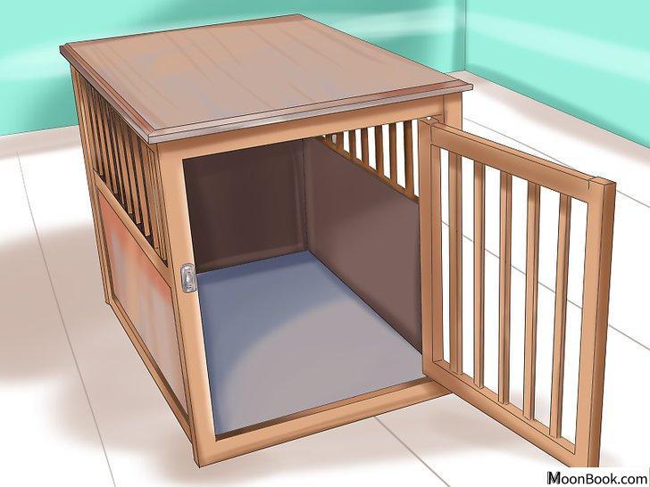 以Crate Train Your Dog or Puppy Step 12为标题的图片