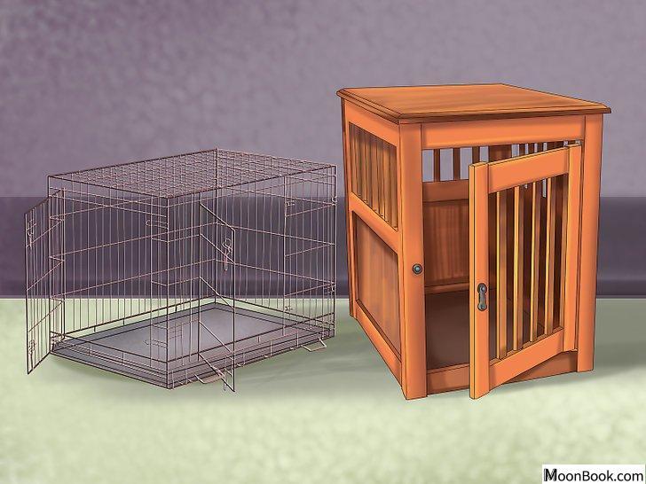 以Crate Train Your Dog or Puppy Step 2为标题的图片