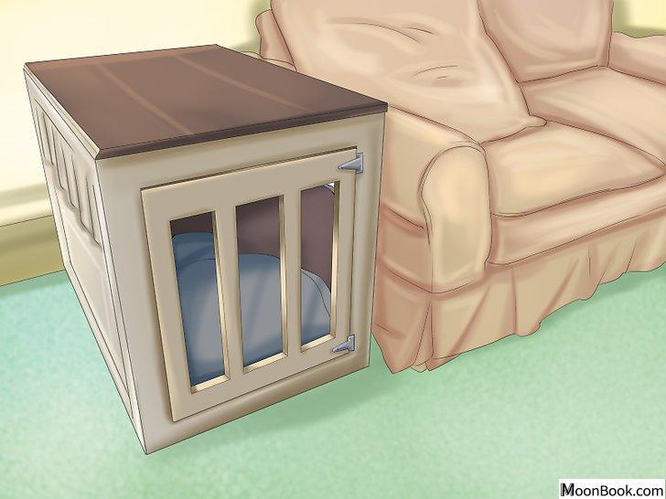 以Crate Train Your Dog or Puppy Step 3为标题的图片