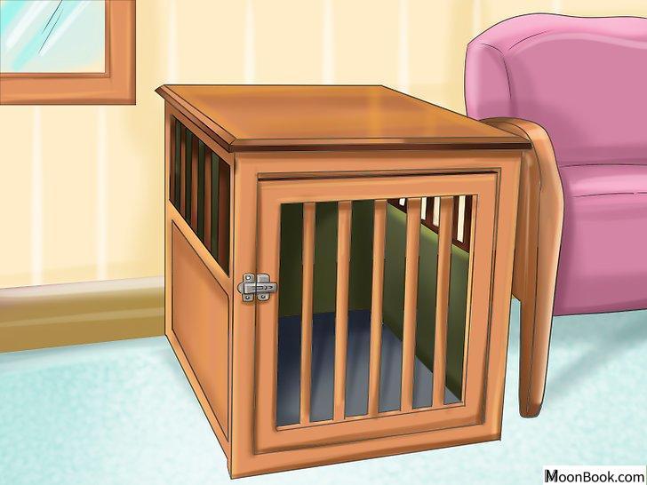 以Crate Train Your Dog or Puppy Step 7为标题的图片