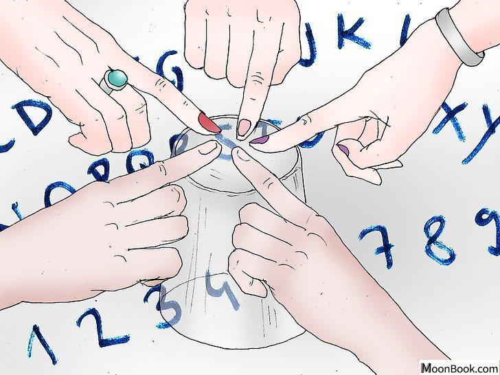 以Create a Ouija Board Step 3为标题的图片