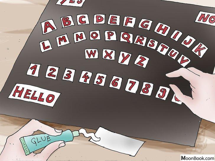 以Create a Ouija Board Step 8为标题的图片