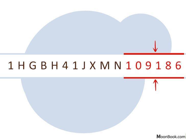 以Decode a VIN Step 12为标题的图片