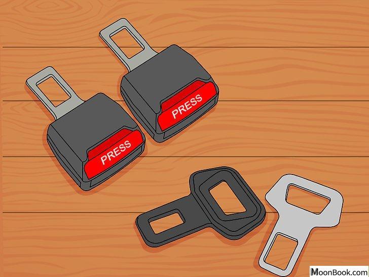 以Disable a Seat Belt Alarm Step 1为标题的图片