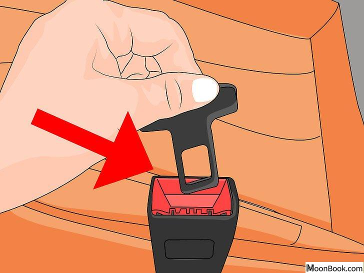 以Disable a Seat Belt Alarm Step 3为标题的图片