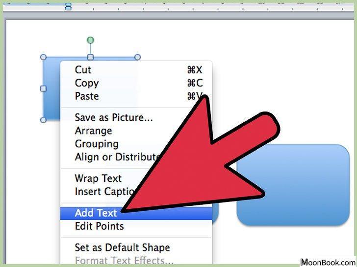 以Draw Flowcharts with Word 2003 Step 5为标题的图片