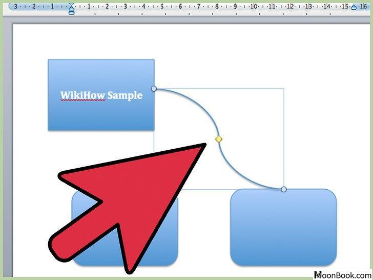 以Draw Flowcharts with Word 2003 Step 9为标题的图片