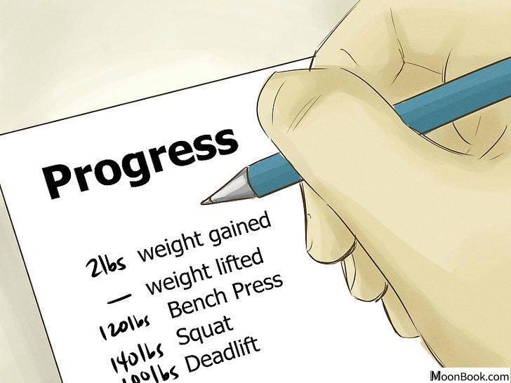 以Gain More Muscle Mass and Strength Step 1为标题的图片