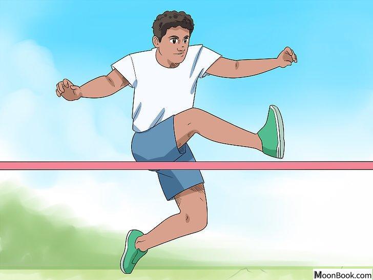 以High Jump (Track and Field) Step 11为标题的图片