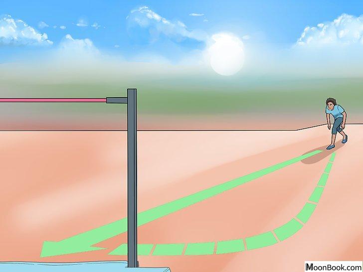 以High Jump (Track and Field) Step 2为标题的图片