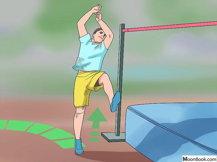 以High Jump (Track and Field) Step 6为标题的图片