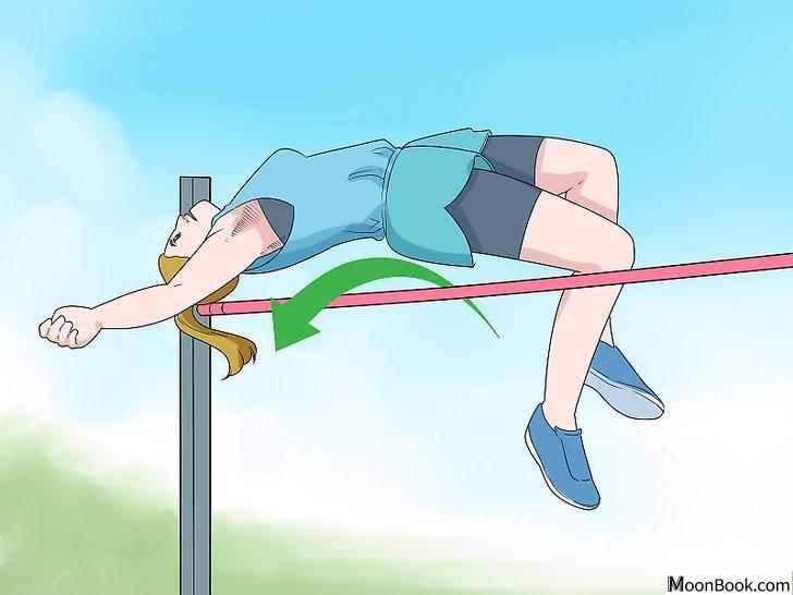 以High Jump (Track and Field) Step 7为标题的图片