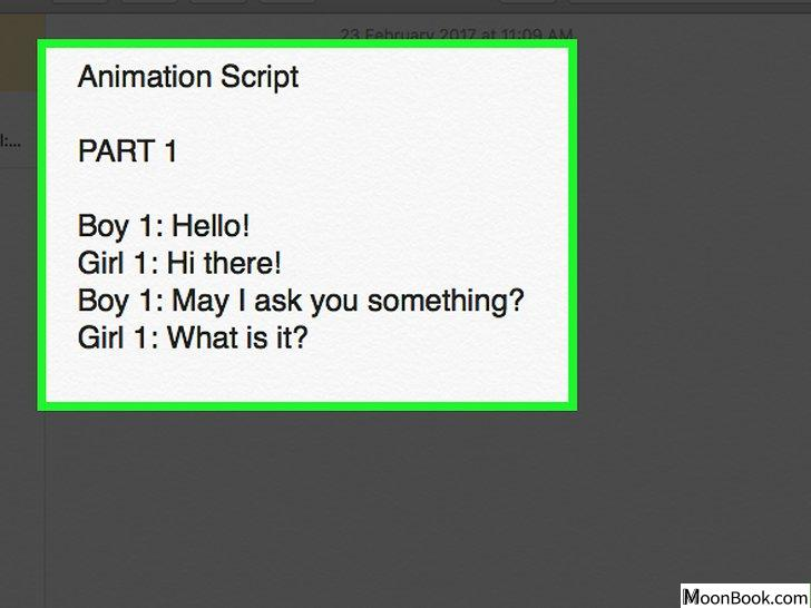 以Make Your Own Animation Step 1为标题的图片