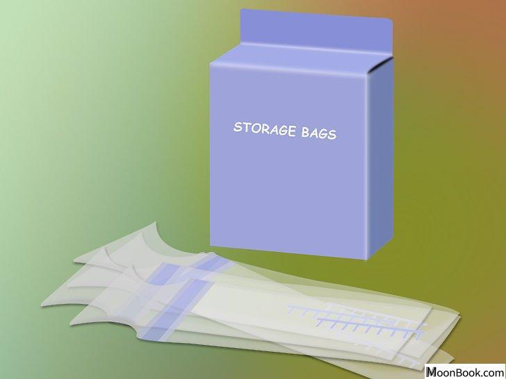 以Store Your Expressed Breast Milk Step 2为标题的图片