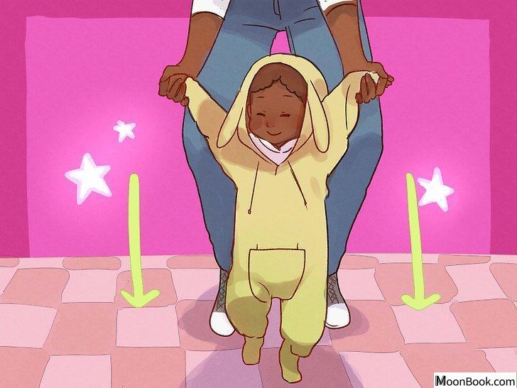 以Teach Your Baby to Walk Step 4为标题的图片