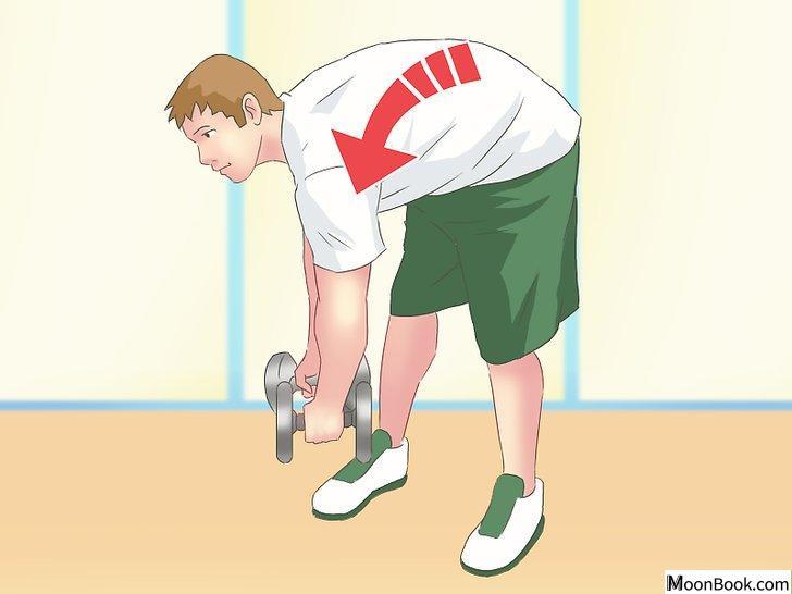 以Work Your Back Muscles at Home Step 11为标题的图片