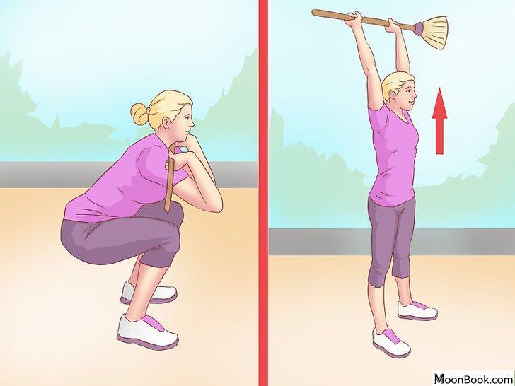 以Work Your Back Muscles at Home Step 16为标题的图片