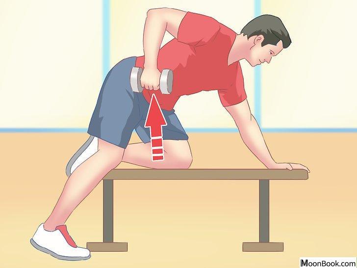 以Work Your Back Muscles at Home Step 8为标题的图片