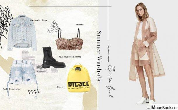 Summer Wardrobe:从法式优雅到黑白个性,5款不过时的夏装提案