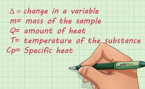如何计算比热