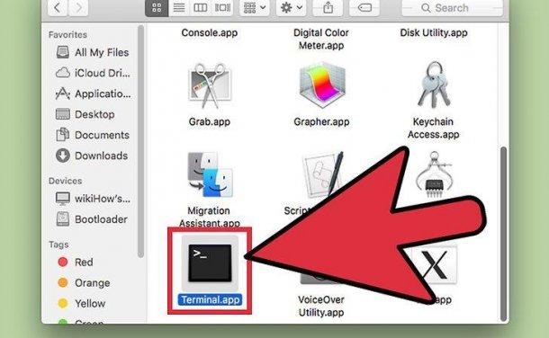 如何在Mac电脑上使用终端打开应用程序
