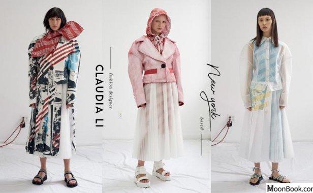 以艺术眼光重塑衣装结构与纹理:纽约华裔设计师 Claudia Li